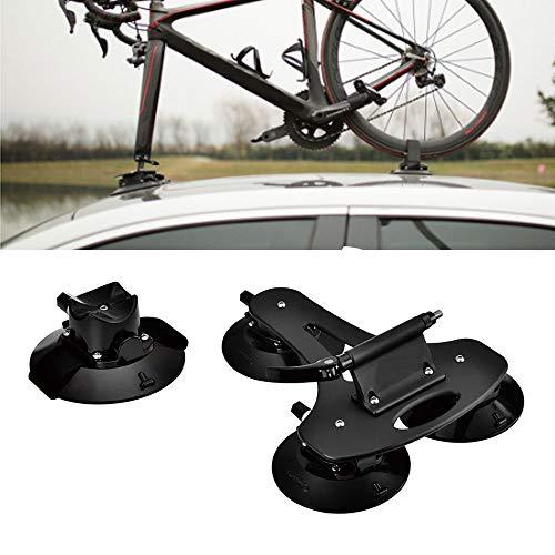 DOLA Baca Portabicicletas de Techo para Bicicleta con Ventosa Instalación Rápida Almacenamiento para 1 Bicicletas,B5