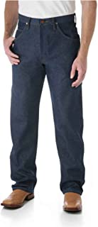 Wrangler Men's Cowboy Cut Relaxed Fit Jeans, Rigid Indigo, W38 L36