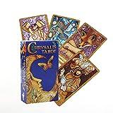 Chrysalis Tarot Tarjetas Oráacas Divinación Divinación Entretenimiento Tabla de Mesa Tablero Deck Games Family Tarjetas de Juego