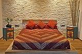 OPIUM OUTLET Mesita de Noche Dormitorio Vintage China Antigua Oriental, Comoda pequeña asiatica Entrada Madera