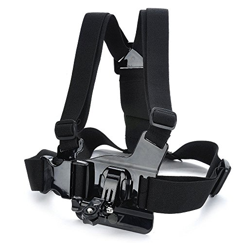 Adjustable Chest Body Harness Belt Strap Mount For Sony action cam...