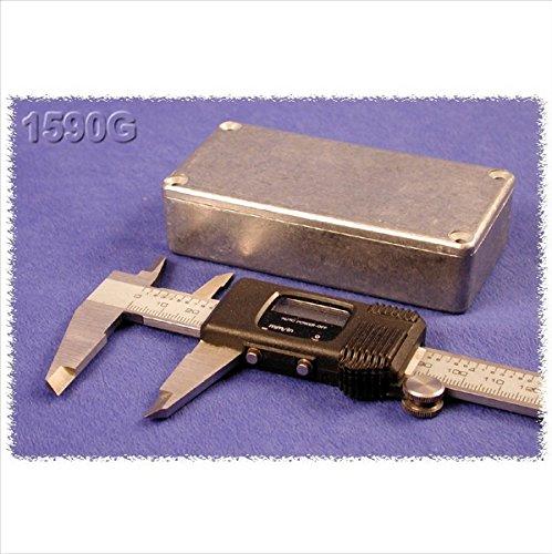 Preisvergleich Produktbild Hammond Electronics 1590GBK Universal-Gehäuse 100 x 50 x 25 Aluminium Druckguss Schwarz 1 St.