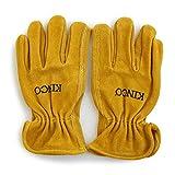 (キンコグローブ) Kinco Gloves COWHIDE レザードライバーグローブ グローブ 手袋 レザー 牛革 M/-01 ブラウン