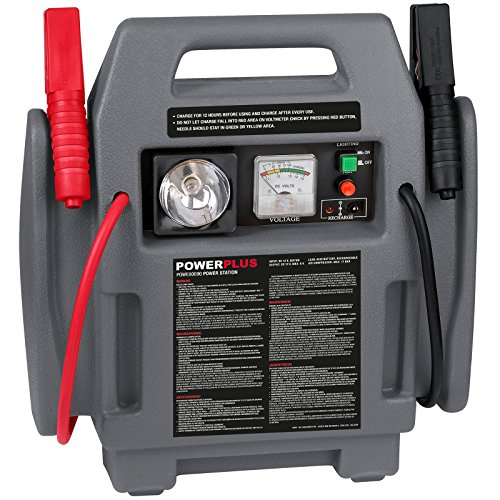 POWER plus Powerstation 4-in-1 Pannenhilfe Auto Starthilfe 500 mA Kompressor Notleuchte