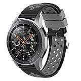 Younsea Correa Gear S3 Frontier, Correas de 22 mm con Liberación Rápida para Gear S3 Frontier/Gear S3 Classic/Galaxy Watch 46mm/ Huawei Watch GT 46mm/ Ticwatch Pro/ Gear2 R380