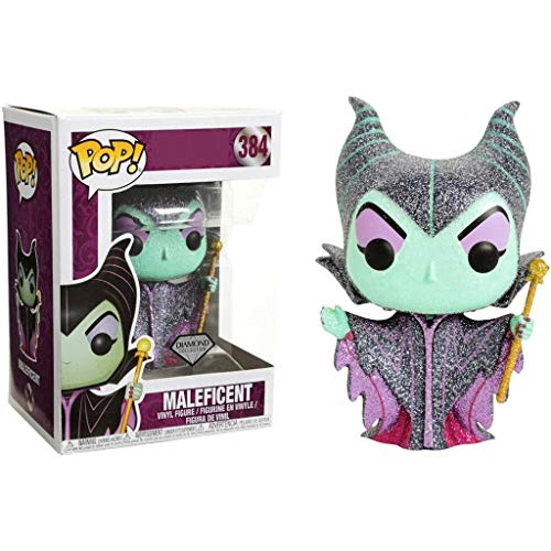 Funko Pop Movies : Maleficent (Diamond Collection 3.75inch Vinyl Gift for Fairy Tale Fans SuperCollection