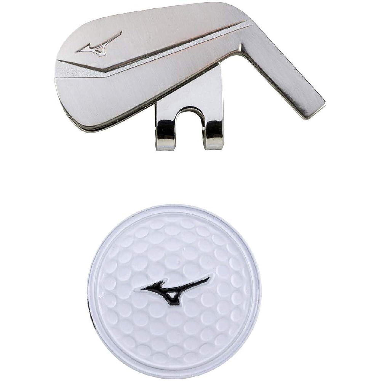 MIZUNO(ミズノ) グリーンマーカー マルチスポーツ ゴルフタイプ ユニセックス 5LJD192100 シルバー
