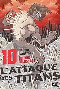 L'Attaque des Titans Édition Colossale Tome 10