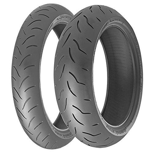 Par neumáticos Bridgestone BT 016120/70zr17m/C (58W) TL–180/55zr17m/C (73W) TL