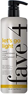 fave4 Mini Let's Go Light Fave Conditioner Fanatic Size for Lightweight Shine- Sulfate Free | Paraben Free| Gluten Free| N...