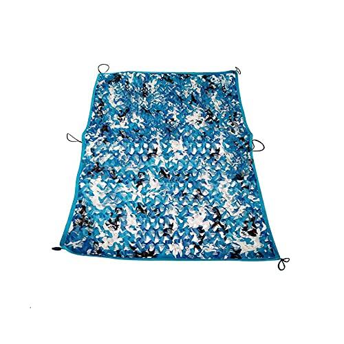 Camo Netting Camuflaje Neto para Disparar Decoración De La Caza Sombrilla Oxford Tela Theme Party Decoración De La Caza Decoración del Partido Ciego(Size:4.92x16.4ft/1.5x5m,Color:Selva)