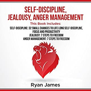 Self-Discipline, Jealousy, Anger Management audiobook cover art