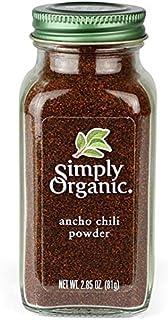 Simply Organic Ancho Chili Powder, Certified Organic | 2.85 oz