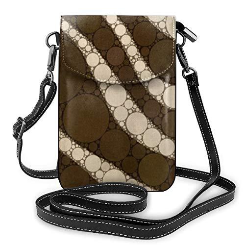 Goxegag Multifunktionale Leder Telefon Geldbörse, Leichte Kleine Schulter Umhängetasche Reisetasche Mit Verstellbarem Gurt Für Frauen-Schnittmuster
