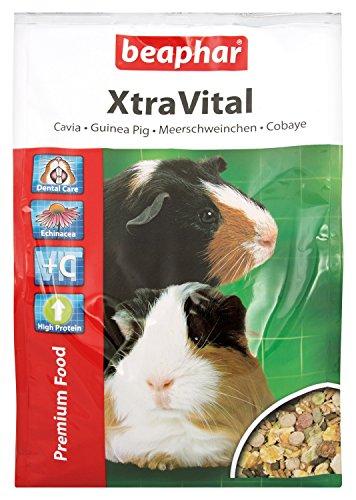 XtraVital Caviavoeding | rijk aan vitamine C | met tandverzorgende eigenschappen | laag vetgehalte | met echinacea & Alfalfa | 2,5 kg
