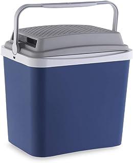 Campos 75228 Mini Nevera Portatil Electrica 24 L de 12 V   Fabricada en España, Azul/Gris, 24L
