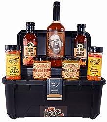 Just Enough Heat BBQ sauce toolbox