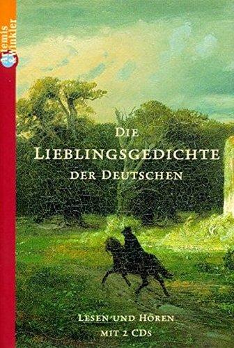 Die Lieblingsgedichte der Deutschen. Buch und 2 CDs