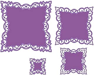 Spellbinders S4-473 Nestabilities Labels Forty-Two Decorative Elements Etched/Wafer Thin Dies