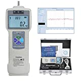 BAOSHISHAN Push-Pull-Messgerät-Tester Digitaler Kraftmesser mit USB-RS232-Schnittstelle LCD-Kraftmessinstrumenten Schubmesser für Laborkrafttest Zerstörungsprüfung ZP (500N)