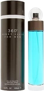 Perry Ellis 360 By Perry Ellis For Men. Eau De Toilette Spray 3.4 Oz.