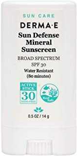 Derma E- Sun Defense Mineral Sunscreen SPF30-14 g / 0.5 oz