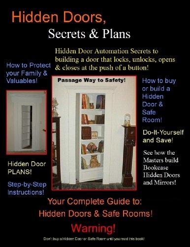 Bookcase Hidden Doors 'Secrets & Plans'