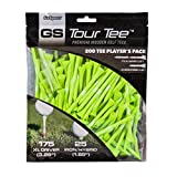 GoSports Tour Tee Premium Wooden Golf Tees | 200 XL Tee Player s Pack Driver and Iron/Hybrid Tees, Green