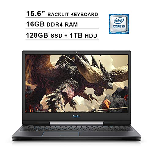 Sale!! 2020 Newest Dell G5 15.6 Inch FHD 1080P Gaming Laptop (Intel 4-Core i5-9300H up to 4.1GHz, 16...