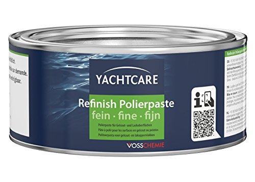 Yachtcare Refinish Polierpaste fein - universell einsetzbare Polierpaste für Gelcoat- und Lackoberflächen
