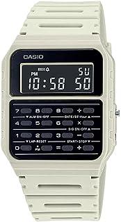 Casio CA-53WF-8B Calculator Beige Digital Mens Watch Original New Classic CA-53