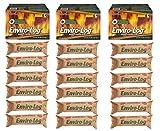 Enviro-Log Earth Friendly Fire Log, 5 lb, Burns Cleaner Than Wood - 18 logs (3 Packs of 6)