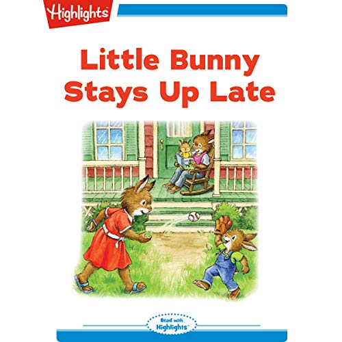 Little Bunny Stays Up Late copertina
