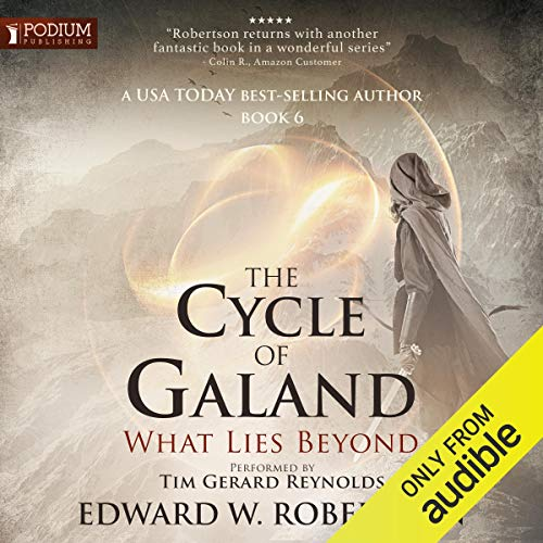 What Lies Beyond audiobook cover art
