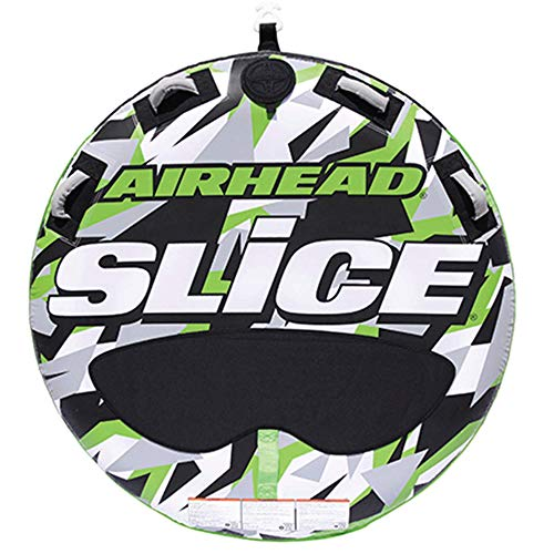 Airhead SLICE Two Rider Towable Tube, Green Camo, One Size, Model Number: AHSSL-22