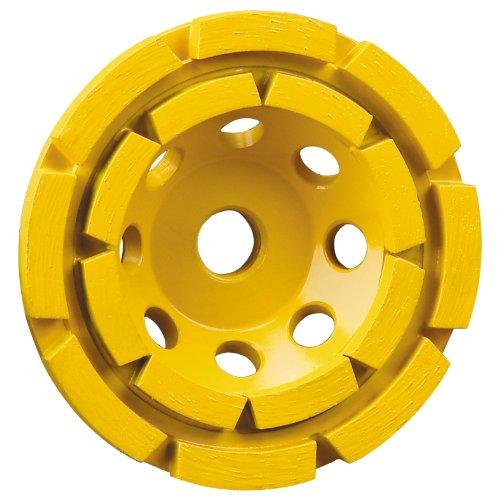 DEWALT Grinding Wheel, Double Row, Diamond Cup, 4-1/2-Inch (DW4774)
