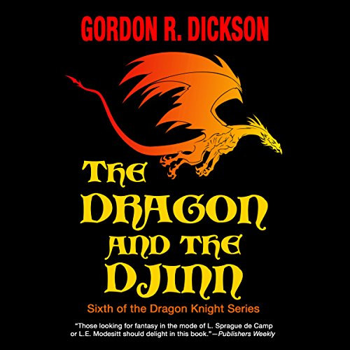 The Dragon and the Djinn audiobook cover art