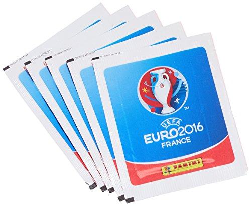 Panini - 003028BLBF17 - Pack de 50 Autocollants UEFA EURO 2016