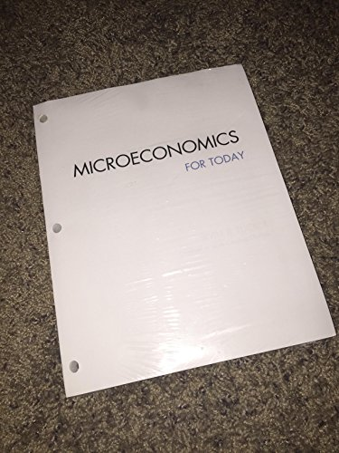 Microeconomics For Today, Loose-Leaf Version