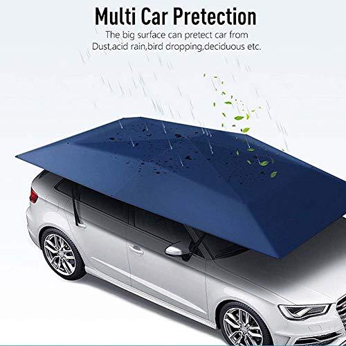 Elitte 86 * 157in Tenda per Auto, Auto Shelter Ombrello Tenda Tetto Ombra Copertura Panno Tetto Impermeabile Anti UV