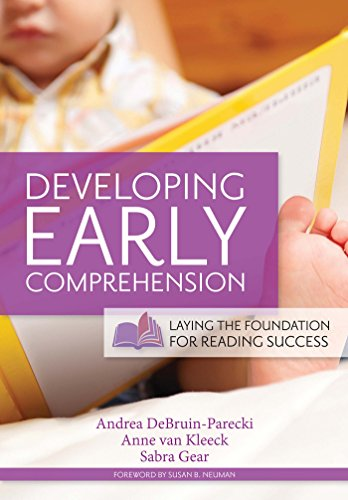 developing early comprehension - 1