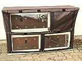 nanook Housse de protection pour clapier cage lapin Filou Taille L 130 x 80 cm