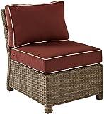 Crosley Furniture KO70016WB-SG Bradenton Outdoor Wicker Left Corner Sectional...