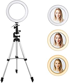 PRALION 18 Inches Big LED Ring Light for Video Shooting ing Light for tiktok ing Light for Musically ing Light for Photography with Portable Stand with Carry Bag - White