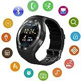 ISABELLA Unisex Bluetooth 4g Smart Watch for Men/Girls/Women/4g Sim Card Support/Touch Screen/Compatible