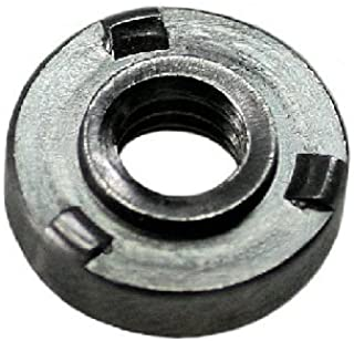 Steel QTY-25 8-32 THD x .060 thk Unicorp EWN-832-1 Round Projection Weld Nut Self-Locating