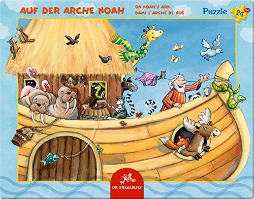 Rahmenpuzzle Auf der Arche Noah (24 Teile)
