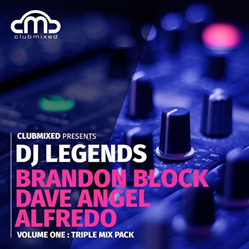 Clubmixed Presents DJ Legends Vol. 1 Triple Mix Pack - Brandon Block, Dave Angel, Alfredo