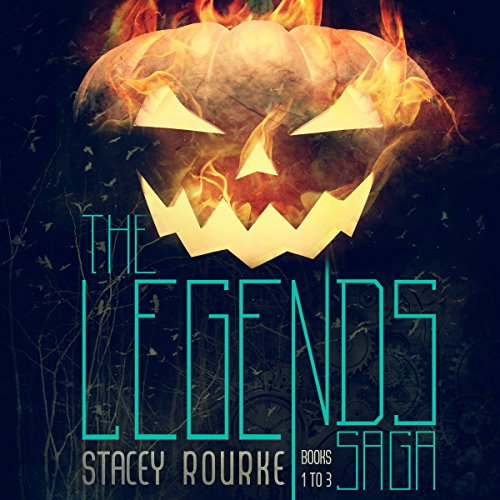 The Legends Saga Collection audiobook cover art