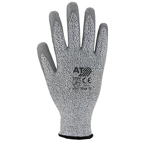 ASATEX Schnittschutz-Handschuh 3711, grau, Gr. 10 (10 Paar)
